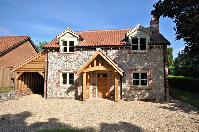 Thumbnail Detached house for sale in Church Lane, Harpley, King's Lynn