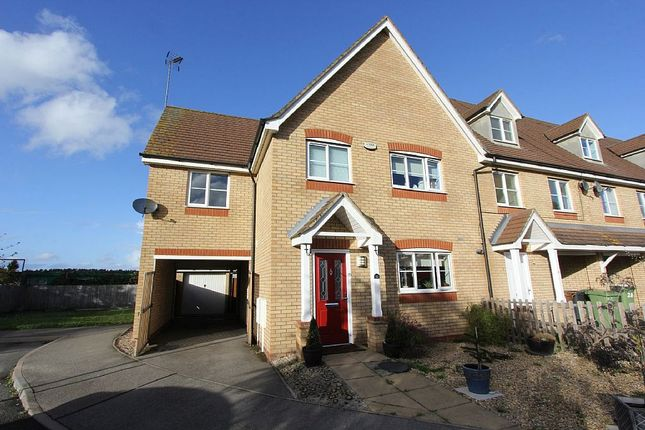 Thumbnail Semi-detached house for sale in Mansfield Way, Irchester, Wellingborough, Northamptonshire