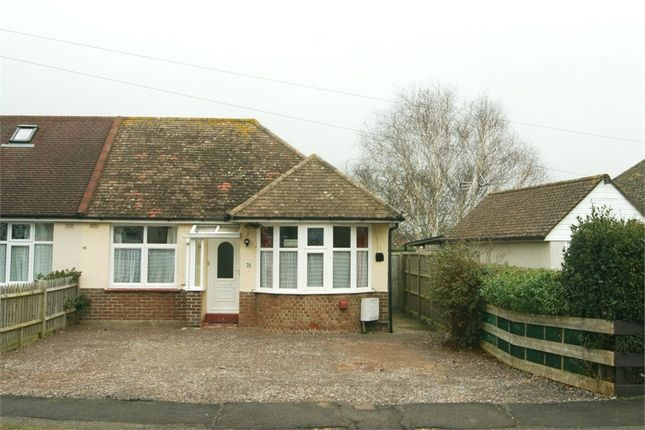 Thumbnail Semi-detached bungalow for sale in Wannock Avenue, Eastbourne, East Sussex