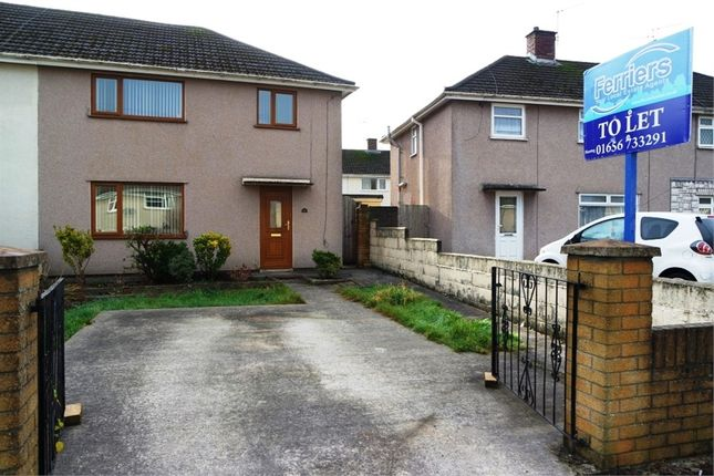 Thumbnail Semi-detached house to rent in Ffordd-Y-Goedwig, Pyle, Bridgend, Mid Glamorgan