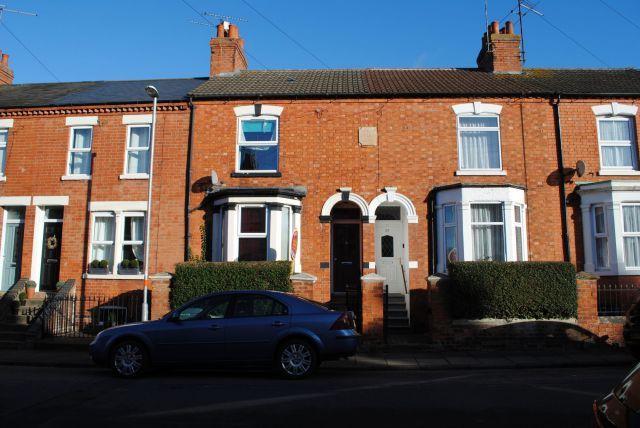 Thumbnail Terraced house for sale in Washington Street, Kingsthorpe, Northampton