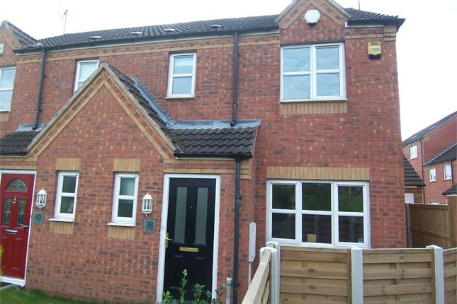Thumbnail Semi-detached house to rent in Dunsil Road, Mansfield Woodhouse, Mansfield, Nottinghamshire