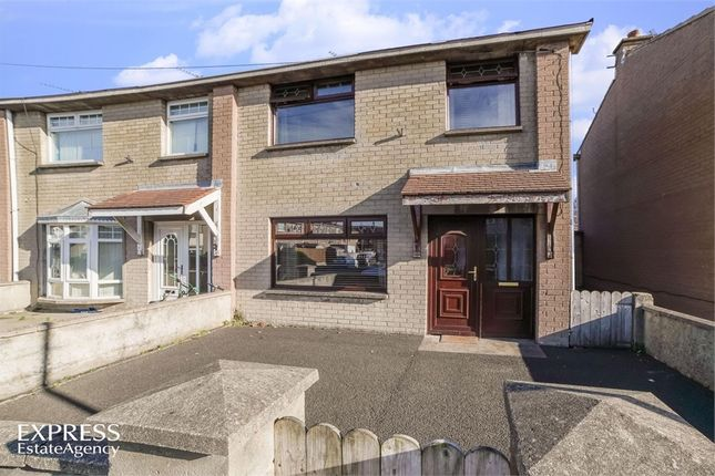 Thumbnail End terrace house for sale in Glebe Avenue, Coleraine, County Londonderry