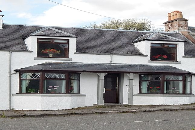 Thumbnail End terrace house for sale in Shiel View, 40 Main Street, St John's Town Of Dalry