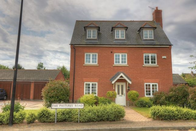 Thumbnail Detached house for sale in Far Pastures Road, Birstall, Leicester