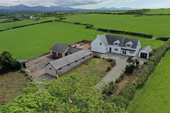 Thumbnail Detached house for sale in Penmynydd, Llanfairpwllgwyngyll, Anglesey, North Wales