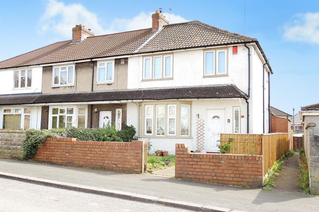 Thumbnail End terrace house to rent in Woodyleaze Drive, Hanham, Bristol