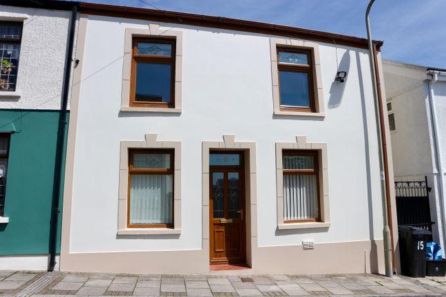 Thumbnail End terrace house for sale in Libanus Street, Dowlais, Merthyr Tydfil
