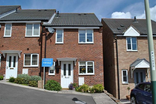 Thumbnail End terrace house for sale in Pidwelt Rise, Pontlottyn, Bargoed