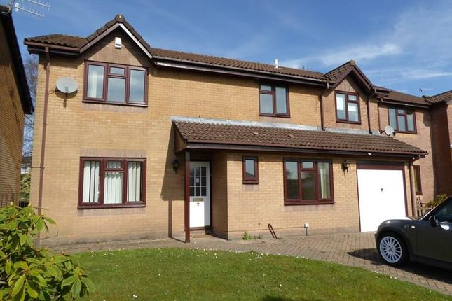 Thumbnail Detached house to rent in Sunningdale, Caerphilly