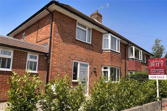 Thumbnail Semi-detached house for sale in North Lane, Rustington, Littlehampton