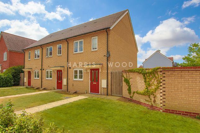 Thumbnail End terrace house for sale in Foundation Way, Colchester