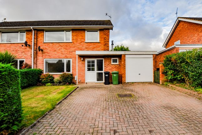 3 bed semi-detached house to rent in Church Croft, Fownhope, Hereford HR1