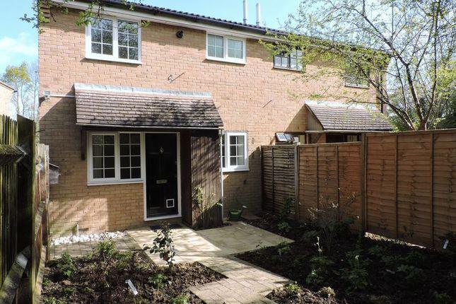 Thumbnail Terraced house to rent in Larchwood, Chineham, Basingstoke