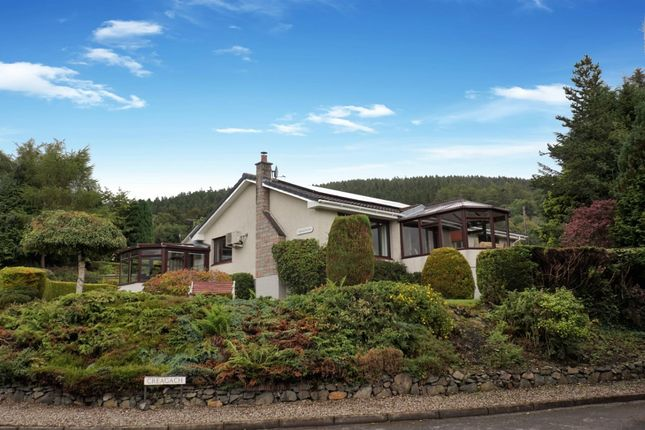 Thumbnail Detached bungalow for sale in Fearnan, Aberfeldy