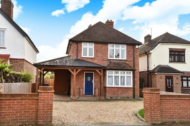 Thumbnail Detached house to rent in Crabtree Road, Camberley