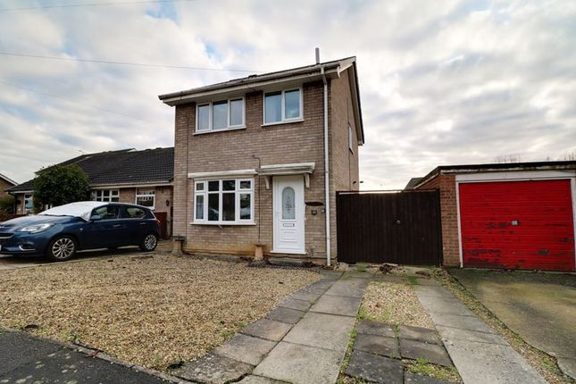 Thumbnail Detached house for sale in Merryweather Court, Bottesford, Scunthorpe