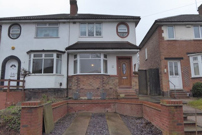 Thumbnail Semi-detached house for sale in Dearmont Road, Northfield, Birmingham