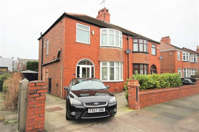 Thumbnail Semi-detached house to rent in Bonis Crescent, Stockport, Cheshire