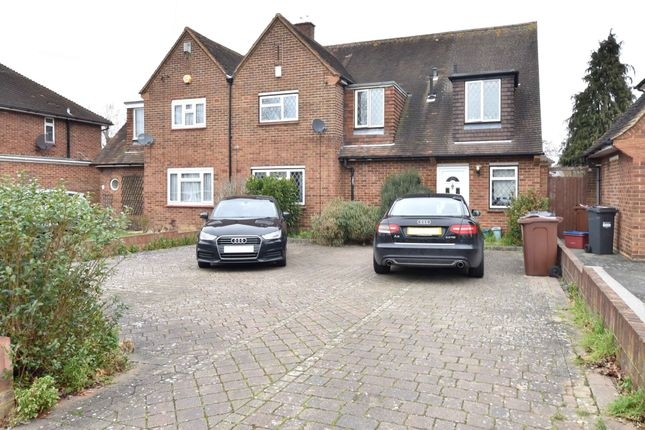 Thumbnail Semi-detached house for sale in Uxbridge Road, Feltham, Middlesex
