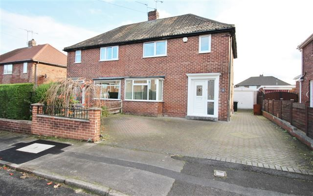 Thumbnail Semi-detached house for sale in Manor Road, Brinsworth, Rotherham