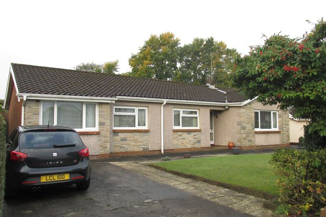 Thumbnail Detached bungalow for sale in Clos Cilfwnwr, Penllergaer, Swansea