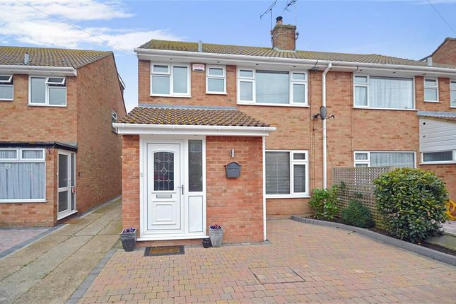 Thumbnail Semi-detached house for sale in Kings Road, Birchington, Kent