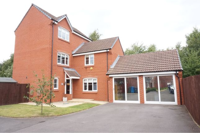 Thumbnail Detached house for sale in Woodbine Close, Huntington, Cannock