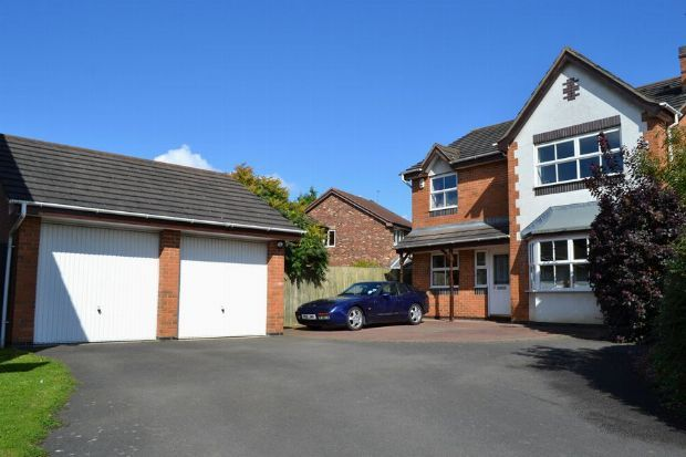 Thumbnail Detached house for sale in Cottesbrooke Gardens, East Hunsbury, Northampton