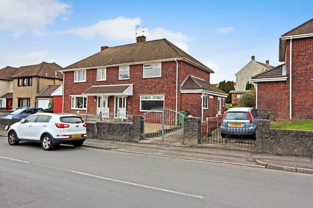 Thumbnail Semi-detached house for sale in St Illtyds Road, Church Village, Pontypridd