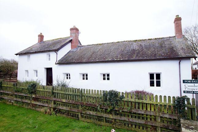 Thumbnail Cottage for sale in White Cottage, Longburgh, Carlisle, Cumbria