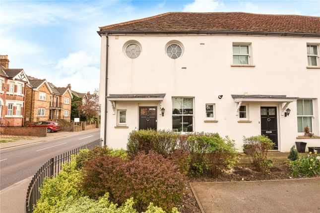 Thumbnail End terrace house for sale in Hogarth Close, Uxbridge, Middlesex