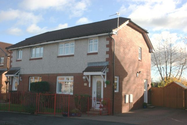 Thumbnail Semi-detached house for sale in Loch Brora Crescent, Coatbridge