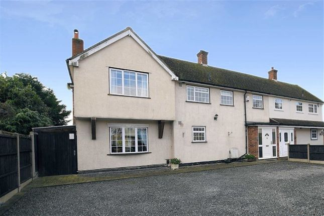 3 bed semi-detached house for sale in Tower Close, North Weald, Epping