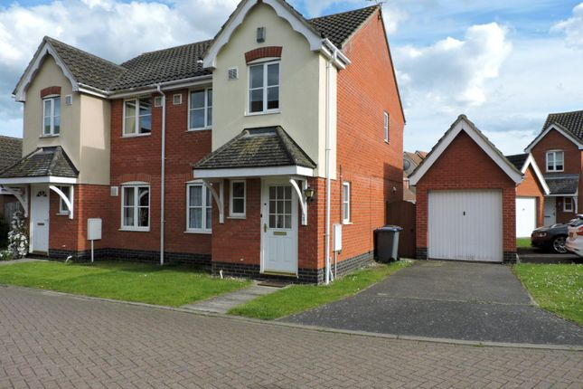 3 bed semi-detached house to rent in Borrett Place, Woodbridge IP12