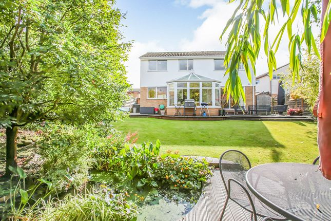 Thumbnail Detached house for sale in Coverside Road, Great Glen, Leicester