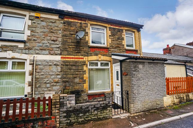 Thumbnail Terraced house for sale in North Road, Cross Keys, Newport