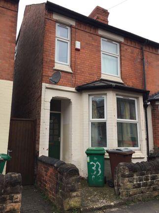 Thumbnail Terraced house to rent in Bute Avenue, Lenton, Nottingham