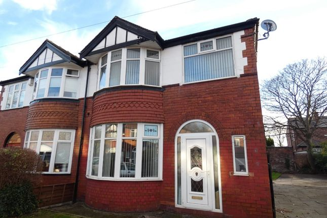Thumbnail Semi-detached house for sale in Northleigh Road, Firswood
