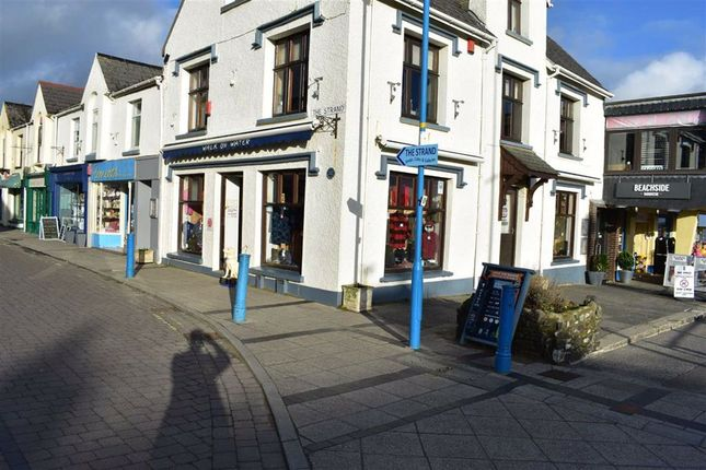 Thumbnail Retail premises for sale in The Strand, Saundersfoot, Pembrokeshire