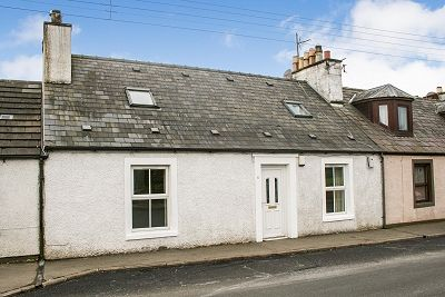 3 bed terraced house for sale in 41 Main Street, Kirkinner DG8