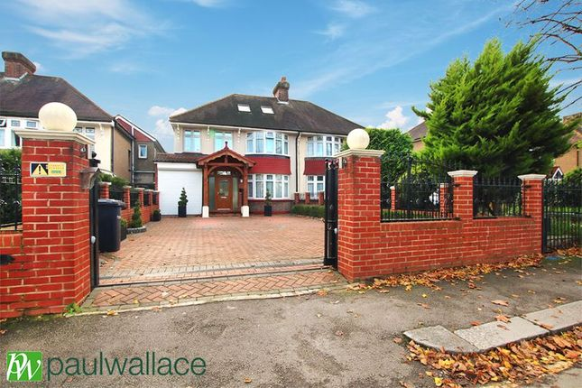 Thumbnail Semi-detached house for sale in Albury Ride, Cheshunt, Waltham Cross