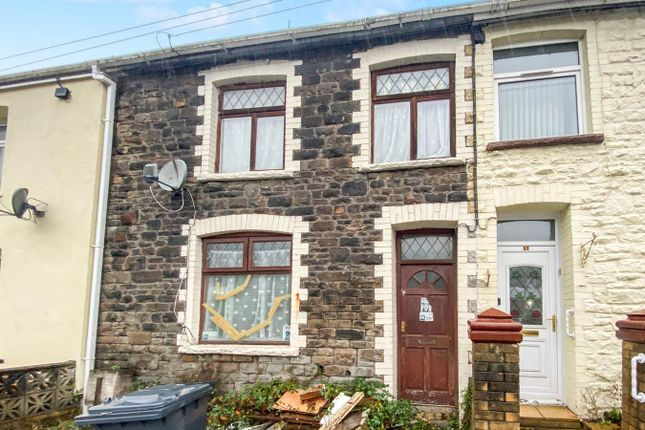 Thumbnail 3 bed terraced house for sale in Aberbeeg Road, Abertillery
