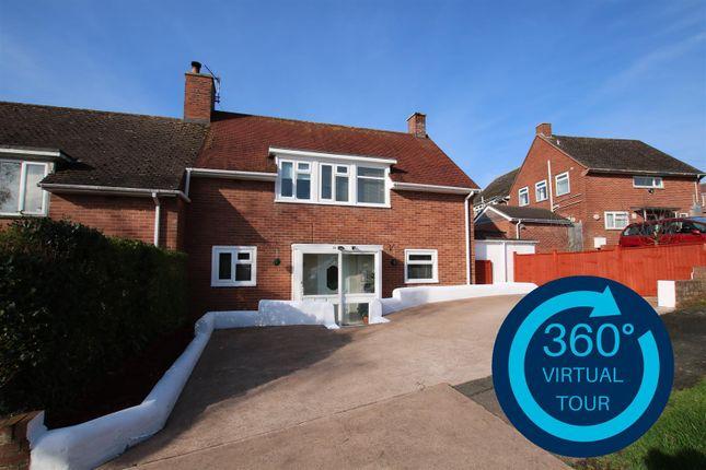 Thumbnail Semi-detached house for sale in Elizabeth Avenue, Exeter
