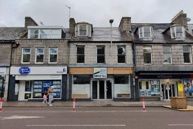 Thumbnail Retail premises for sale in Union Street, Aberdeen