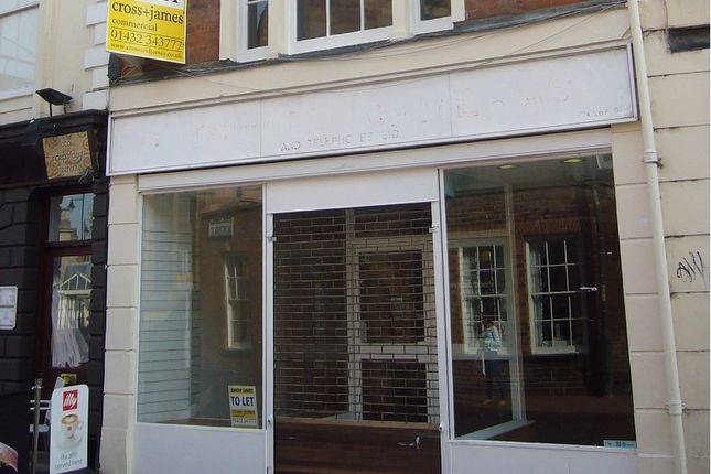 Thumbnail Retail premises to let in St Peters Street, Hereford