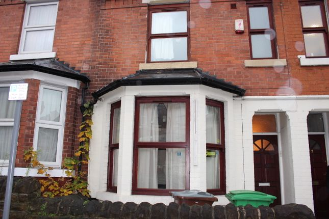 Thumbnail Terraced house to rent in Balfour Road, Nottingham