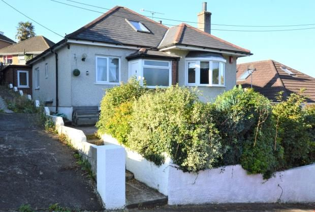 Thumbnail Detached bungalow for sale in Valley View Road, Plymouth, Devon