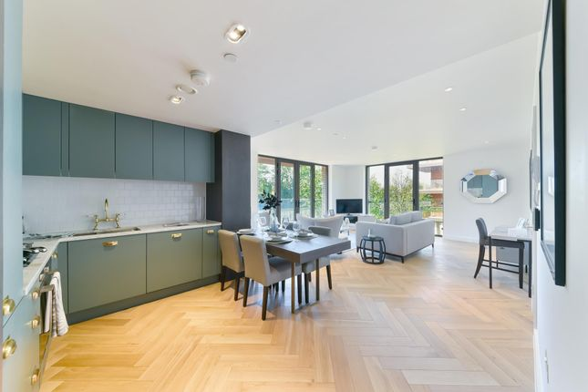 Thumbnail Flat for sale in Lessing Building, West Hampstead Square, London