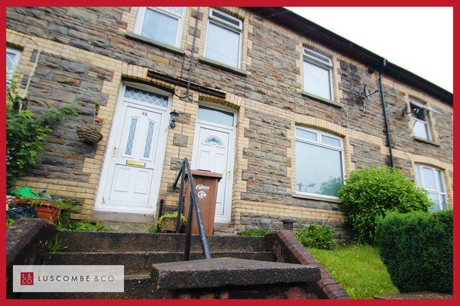 Thumbnail Terraced house for sale in Islwyn Road, Wattsville, Crosskeys, Newport